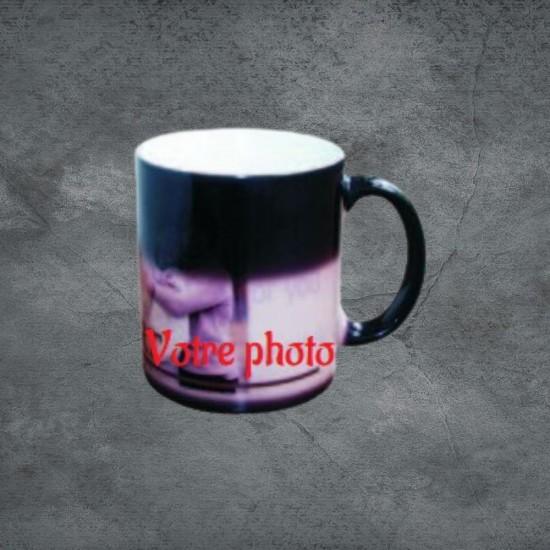 Tasse magique à personnaliser avec photo et/ou texte